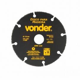 DISCO P/ MADEIRA 110M DMV110 1201110000     VONDER