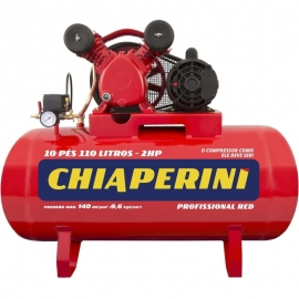COMPRESSOR AR 10/110 RED RCH 110L C/MM 2HP 110/220V IP21 19195     CHIAPERINI