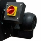 COLETOR DE PO DE PAREDE 1 BOCA MOTOR MONO 1CV/2P CPP/1 (M) - MAKSIWA