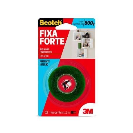FITA DUPLA FACE FIXA FORTE 12 X 2 HB004419873     3M