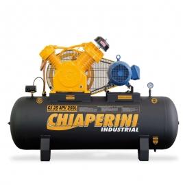 Compressor Ar 25 Pés 250L APV 5HP 220/380v Chiaperini