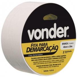 FITA DEMARC 48mmX30m BRANCA 1065504321 VONDER