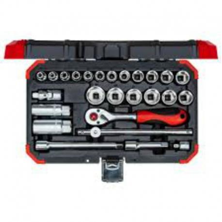 JG SOQ. 3/8 SEXT. 6-24mm 26PCS R59003026 3300053     GEDORE