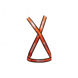 Colete X Laranja/Branco Repletivo 2110 - Deltaplus