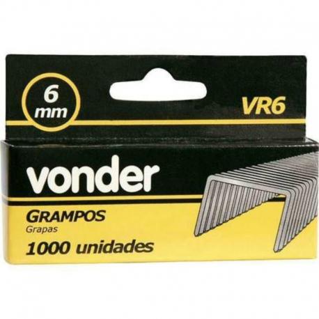 GRAMPO 06mm VR6 C/1000 2898406000     VONDER