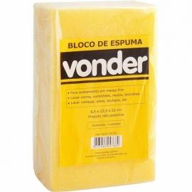 ESPUMA EM BLOCO 22X13X6      VONDER