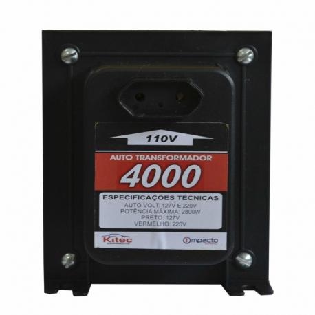 Auto transformador tripolar 4000 vat c/fio kitec