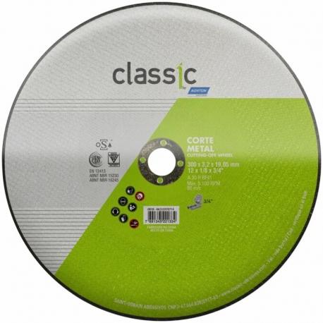 Disco de corte 300x3,2x19,05 ar302 classic norton