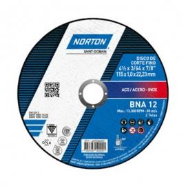 Disco de corte t41 115x1,0x22,23 bna12 66252846551 norton