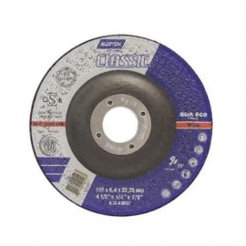 Disco de desbaste t27 115x6,4x22,23 classic bda600 norton