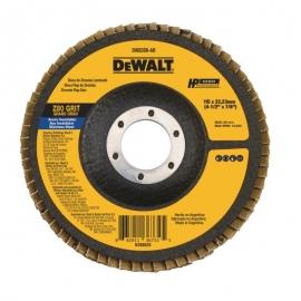 """Flap disco 4 1/2"""" x 7/8"""" gr80 dw8309-ar     dewalt"""