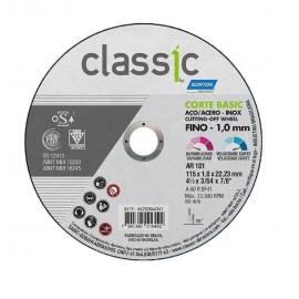DISCO DE CORTE T41 115X1,0X22,23 CLASSIC BASIC 66252846361     NORTON