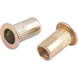 Rebite de rosca em aço carbono, rosca M5, para rebitador manual de rosca, VONDER